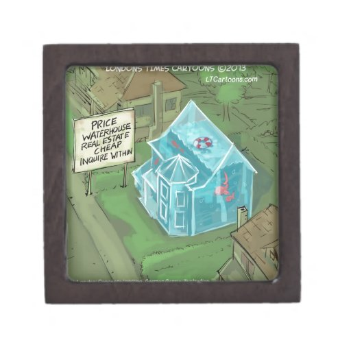 Pesadilla de las ventas de casas de las propiedade caja de joyas de calidad