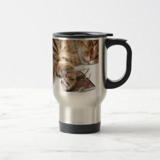 Pesadilla del ratón taza