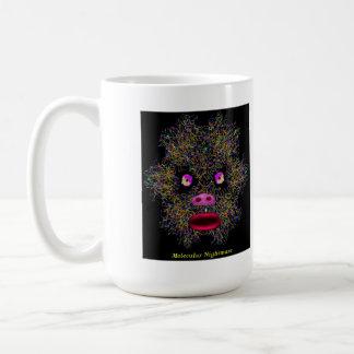 Pesadilla molecular taza de café