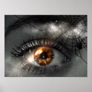 ¡PESADILLA! (ojo - araña - tela) ~ Impresiones