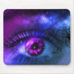 Pesadilla púrpura adaptable de Halloween Tapetes De Ratones
