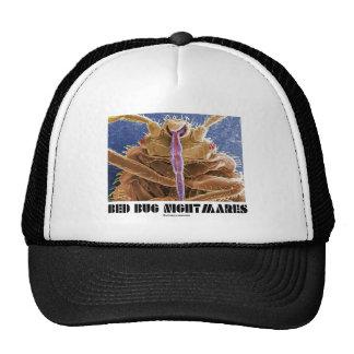 Pesadillas del insecto de cama (lectularius de la  gorros bordados