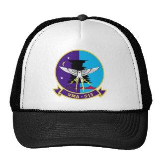 Pesadillas del vuelo VMA-513 Gorros Bordados