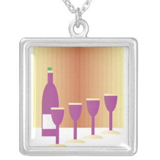 Pesah Matza and Wine Necklace