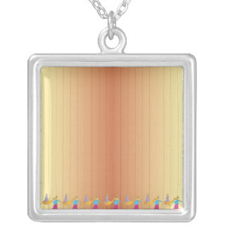 Pesah Scene necklace