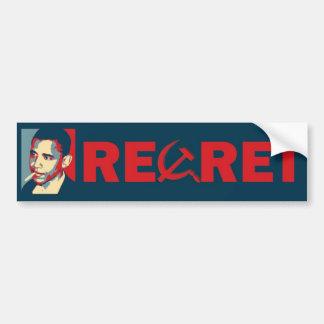 Pesar Obama Etiqueta De Parachoque