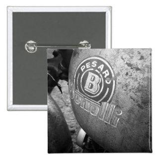 Pesaro Benelli vintage motorcycle Pinback Button