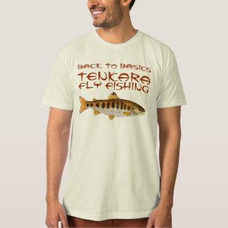 Pesca Amago de la mosca de Tenkara Remeras