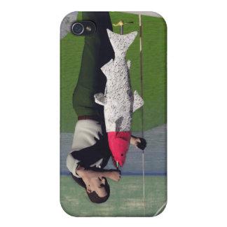 Pesca - cebo artificial iPhone 4 protectores