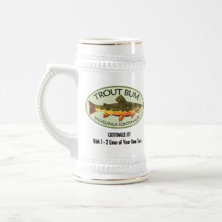 Pesca chistosa jarra de cerveza