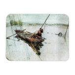 Pesca con las redes 1905 imanes rectangulares