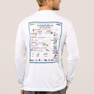 Pesca con mosca 101 camiseta