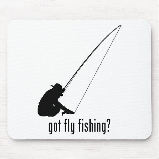 Pesca con mosca alfombrillas de raton