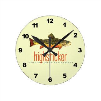 Pesca con mosca de Highsticker Reloj