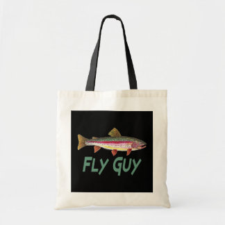 Pesca con mosca de la trucha arco iris bolsa tela barata