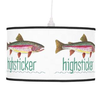 Pesca con mosca de la trucha arco iris