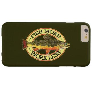 Pesca con mosca de la trucha de arroyo funda para iPhone 6 plus barely there