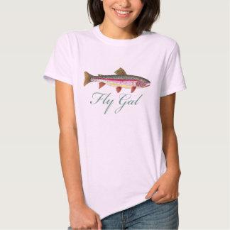 Pesca con mosca de la trucha polera