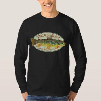 Pesca con mosca de la trucha poleras