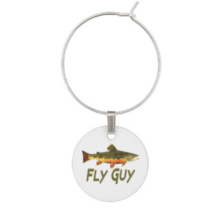 Pesca con mosca identificador de copa