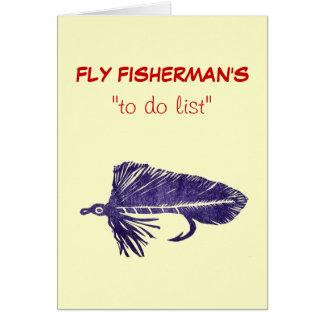 """Pesca con mosca """"para hacer"""" la tarjeta Matuka de"""