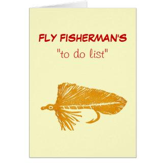 """Pesca con mosca """"para hacer"""" la tarjeta """"oro"""