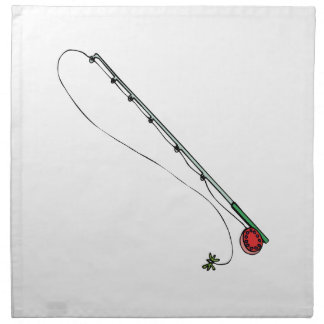 Pesca con mosca poste servilleta