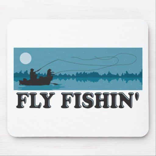 Pesca con mosca tapete de ratón