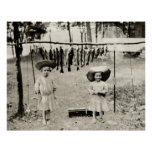 Pesca de 1890 chicas impresiones
