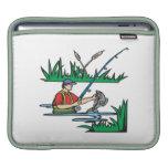 Pesca de 2 funda para iPads