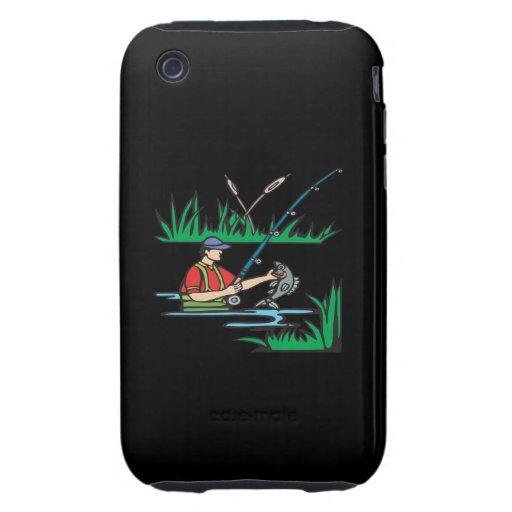 Pesca de 2 iPhone 3 tough cárcasa