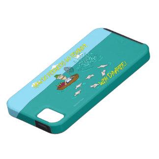 Pesca de chiste con dinamita iPhone 5 protectores