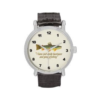 Pesca de decir reloj