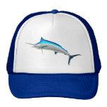 Pesca de juego de la aguja azul gorros