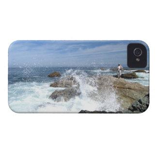 Pesca de la alta marea carcasa para iPhone 4 de Case-Mate