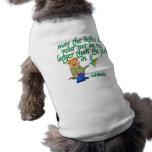 Pesca de la bendición irlandesa ropa perro