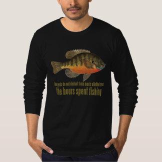 Pesca de la brema remeras