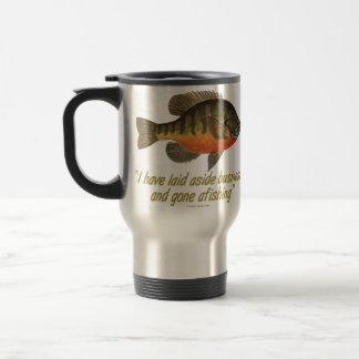 Pesca de la brema taza