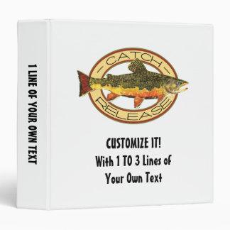 """Pesca de la captura y del lanzamiento carpeta 1 1/2"""""""