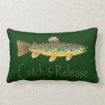 Pesca de la captura y del lanzamiento cojin