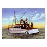 Pesca de la carta en Fort Pierce la Florida 1930 Felicitación