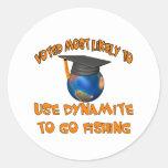 Pesca de la dinamita etiquetas