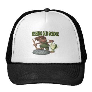Pesca de la escuela vieja gorro