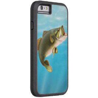 Pesca de la lubina de la carpa funda tough xtreme iPhone 6