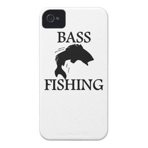 Pesca de la lubina iPhone 4 coberturas