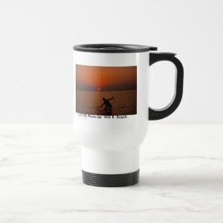 Pesca de la taza/de la puesta del sol taza de viaje