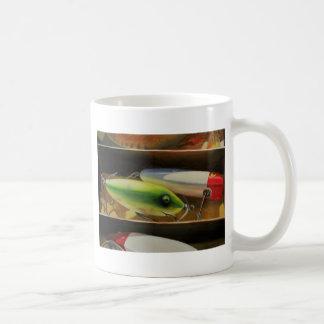 Pesca de la taza de los señuelos