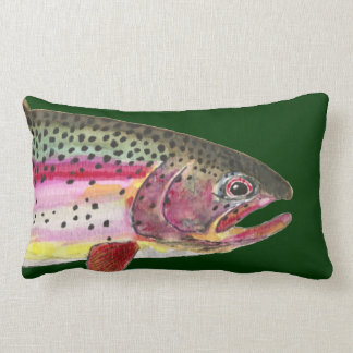 Pesca de la trucha arco iris cojines