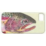 Pesca de la trucha arco iris iPhone 5 carcasas
