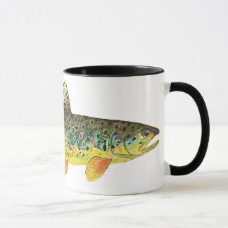 Pesca de la trucha de Brown
